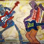 """Electric Robots"" by ArtPrints"