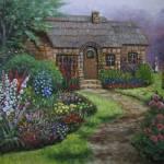 """""""Cottage Garden"""" by SeiterArt"""