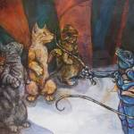 """""""The Cat Tamer"""" by soniacolonnamathis"""