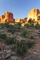 Park Avenue Sunrise in Arches National Park