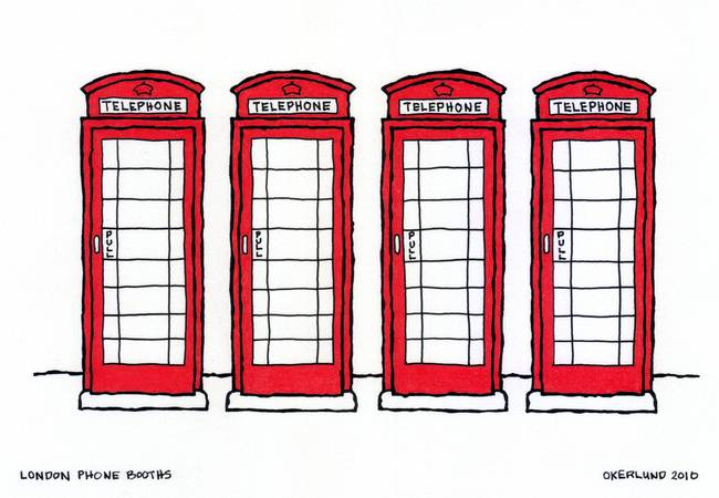 Stunning Quot London Landmarks Quot Drawings And Illustrations For
