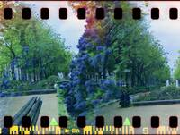Bastille Gardens Double Exposure Sprocket Hack
