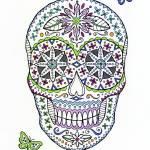 """sugar skull"" by staceycreek"