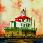 """Ashtabula Lighthouse"" by vigliotti"