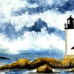"""Annisquam Lighthouse"" by vigliotti"
