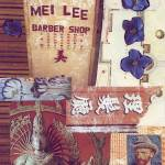 """mei lee barber shop collage"" by paperwerks"