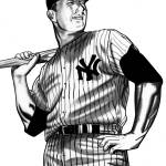 """Mickey Mantle"" by shishin482"