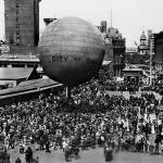 """Oakland Downtown Balloon Launch"" by worldwidearchive"