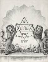 Lions with Star of David