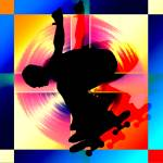 """""""Round Peg in Square Hole Skateboardery"""" by ElainePlesser"""