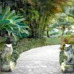 """""""Gate Guards Against Evil Spirits"""" by ElainePlesser"""