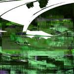 """car headlight 2 (green)"" by AllenRybo"