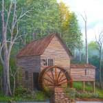 """Loudermilk Grist Mill, Habersham Co. Georgia"" by vivianeagleson"
