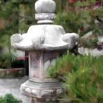 """""""Japanese Garden Statue 1"""" by ElainePlesser"""