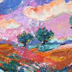 """Olive Trees Provence Landscape"" by GinetteCallaway"