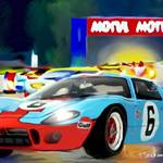 """GT40 d"" by ArtbySachse"