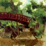 """Bridge of Remembrance"" by newlifeisland"