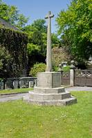 War Memorial, Alstonefield (23230-RDA)