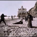 """Beach Scene by the Cliff House, c1900"" by worldwidearchive"