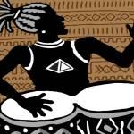 """Kuumba Drummer"" by seitu"