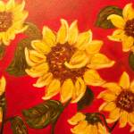 """""""sunflowers"""" by friddleart"""