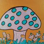 """Metallic mushroom"" by friddleart"