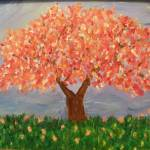 """Blooming Cherry Tree"" by friddleart"