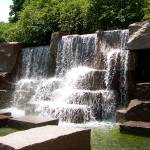 """Waterfall at FDR Memorial"" by Holly08"