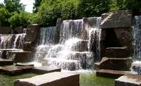 Waterfall at FDR Memorial