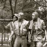"""Three Soldiers at the Vietnam Veterans Memorial"" by Holly08"