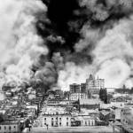 """San Francisco on Fire after Quake, 1906"" by worldwidearchive"