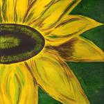 """golden sunflower 001"" by ConnieCapone"