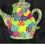 """Whimsical Teapot"" by ConnieCapone"