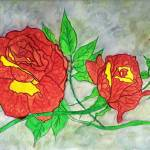 """Watercolor Roses"" by ConnieCapone"