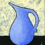"""Blue Pitcher"" by JanetNelson"