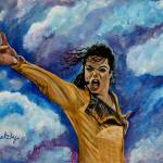 """Michael Jackson"" by paintingsbygretzky"