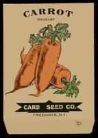 Cards Carrot Seeds