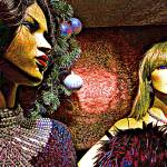 """""""Vintage Mannequins"""" by iwasoutwalking"""