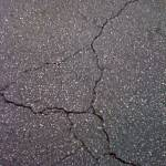 """crack in asphalt"" by SusanEllisonArt"