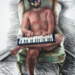 """Man and Keyboard"" by Billifrench"