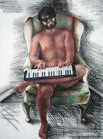 Man and Keyboard