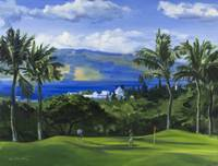 Twosome on Green at Wailea Golf Club in Maui