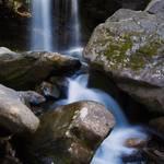 """Grotto Falls"" by mindseyecreative"