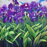 """Iris Sky 1"" by rebeccagrantham"