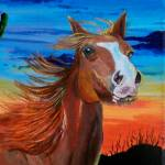 """Arizona Horse"" by mozache"