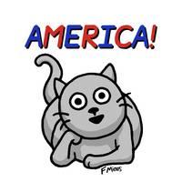 America! - F Minus by Art by Comics.com