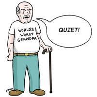 World's Worst Grandpa - F Minus by Art by Comics.com