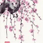 """plum_blossom_4"" by gbensonart"