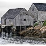 """""""Sheds, Peggys Cove V"""" by genenphotos"""