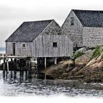 """""""Sheds, Peggys Cove VI"""" by genenphotos"""